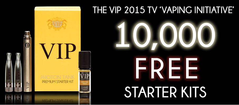 Vip e cig tv advert giveaways