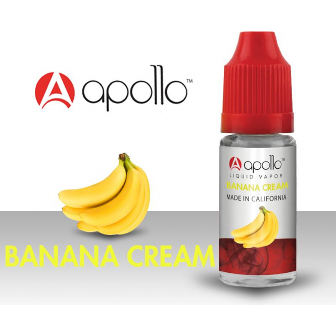 Apollo Banana Cream 10ml E-Liquid