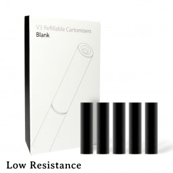 Blank Cartomizer Pack (Low Resistance)