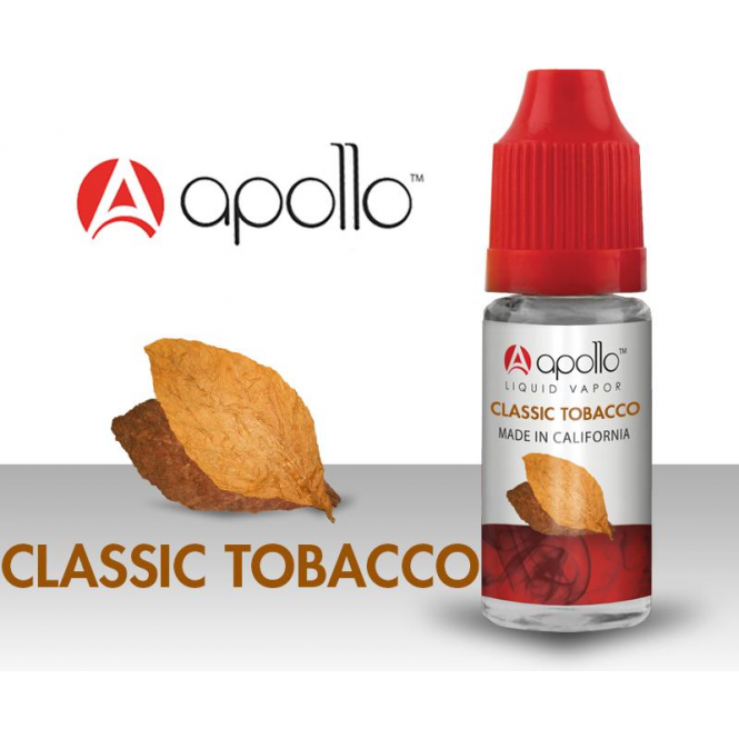 Apollo Classic Tobacco E-Liquid