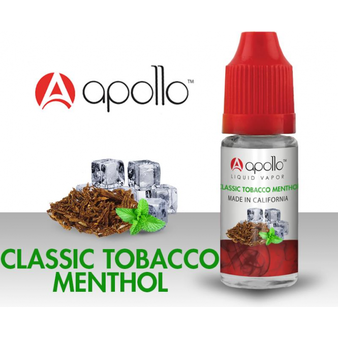 Apollo Classic Tobacco-Menthol 10ml E-Liquid