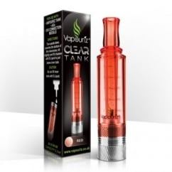 Clear Tank Clearomizer - Red