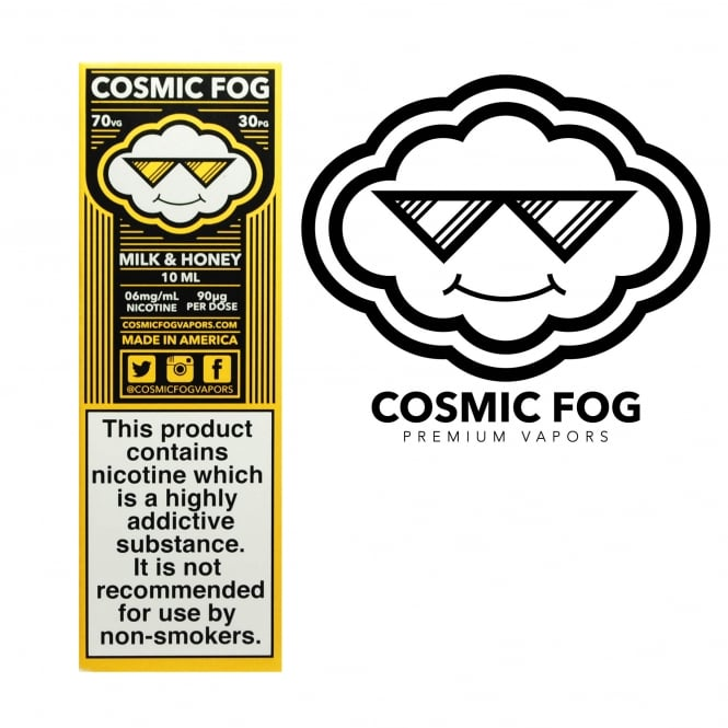 Cosmic Fog Milk & Honey 10ml E-Liquid