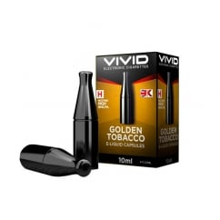 E-Liquid Capsules Golden Tobacco Flavour