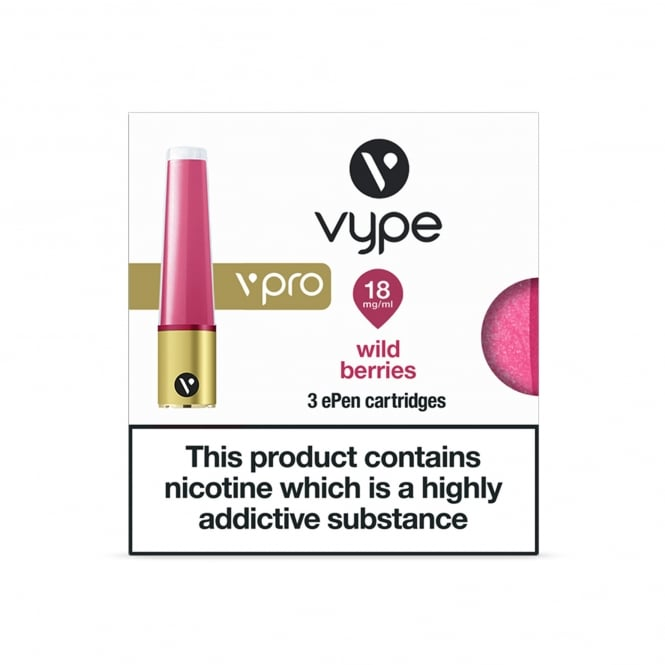 ePen vPro Refill Caps Wild Berries