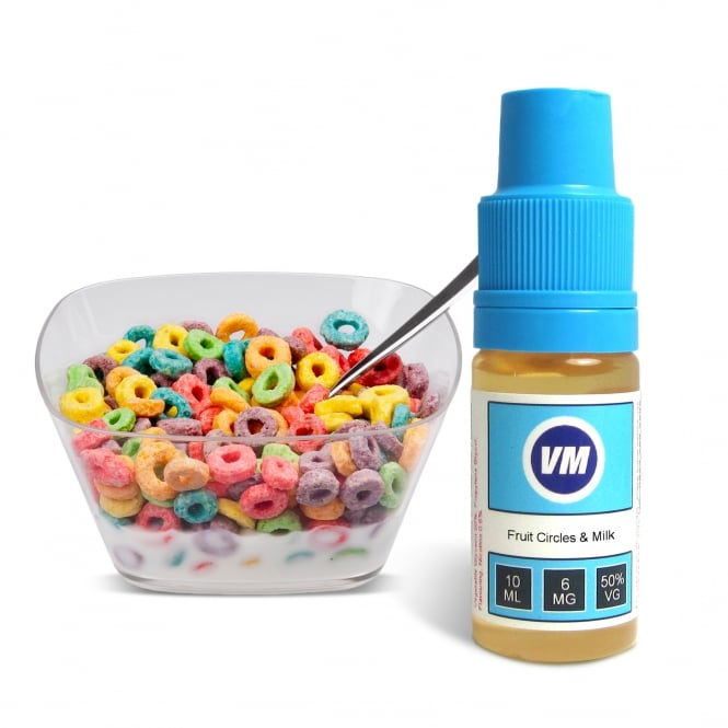 Vapemate Fruit Circles & Milk 10ml E-Liquid