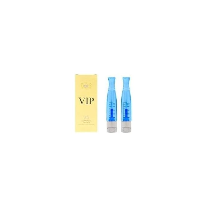 VIP E Cig H2 Clearomizer Replacement Twin-Pack - Blue