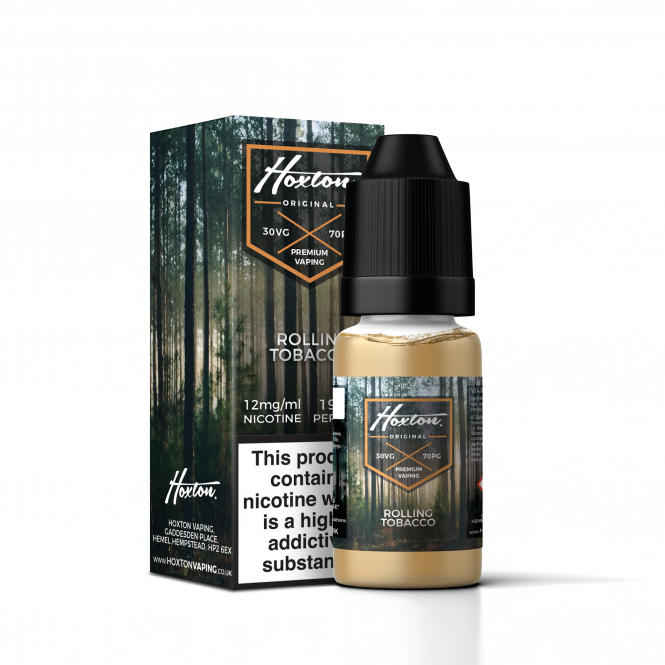 Hoxton Rolling Tobacco 10ml E-liquid