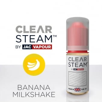 Banana Milkshake *Clear Steam* UK-Made 10ml E-Liquid