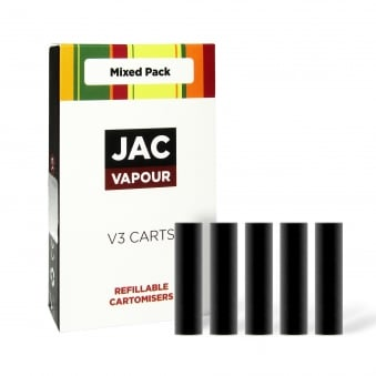 Mixed Cartomizer Refills Pack | Black