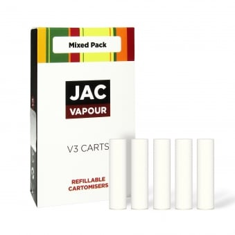 Mixed Cartomizer Refills Pack | White