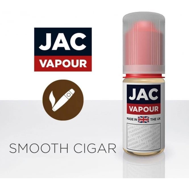 Jac Vapour Smooth Cigar UK-Made 10ml E-Liquid