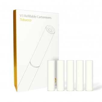 Tobacco Cartomizer Refills | White