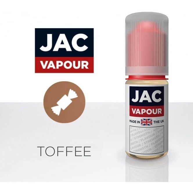 Jac Vapour Toffee UK-Made 10ml E-Liquid