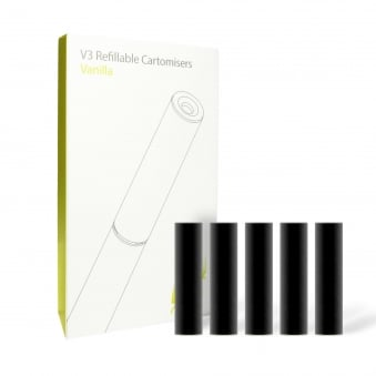 Vanilla Cartomizer Refills | Black