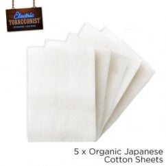 Japanese Organic Cotton Pads Bag of 5