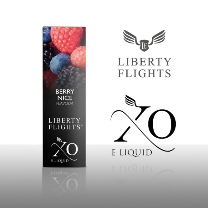 Liberty Flights XO E-Liquid Berry Nice 10ml