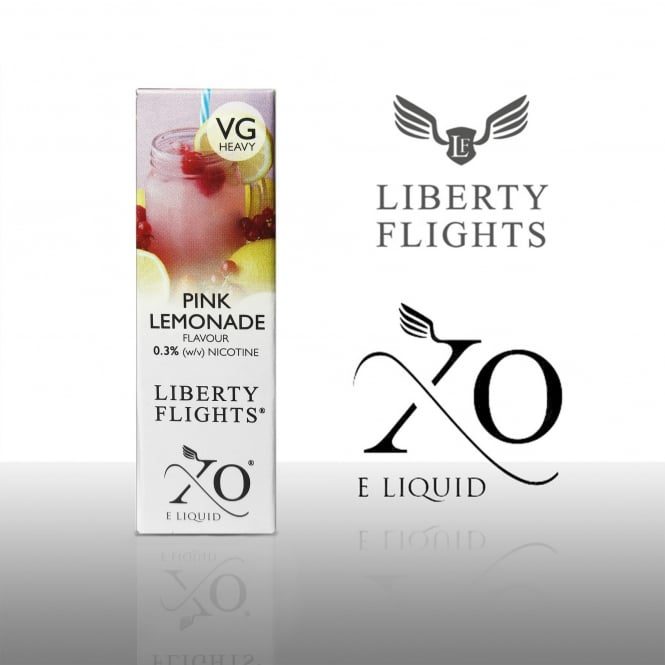 Liberty Flights XO E-Liquid | Pink Lemonade 10ml (VG Heavy)