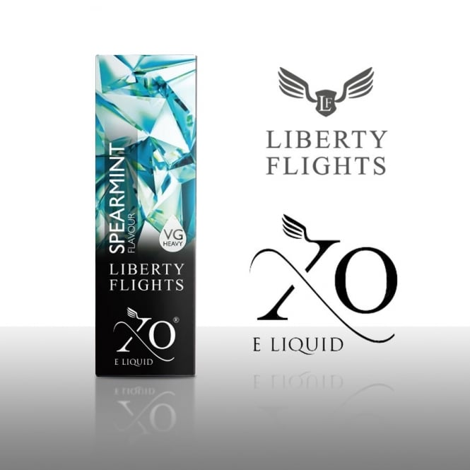 Liberty Flights XO E-Liquid | Spearmint 10ml (VG Heavy)