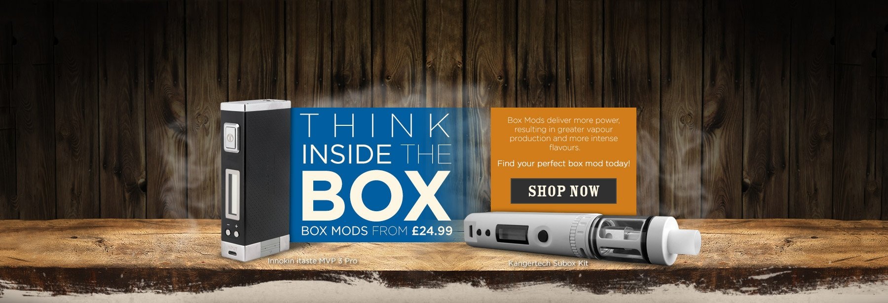 Box Mod from £24.99