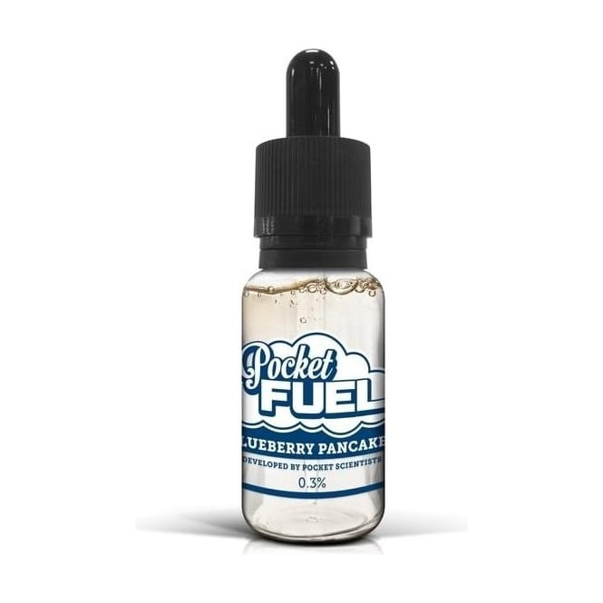 Pocket Fuel E Juice Blueberry Pancakes Dripper 20ml E-liquid