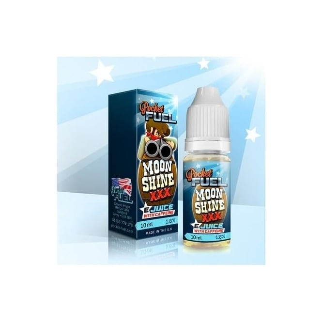 Pocket Fuel E Juice Moonshine 10ml E-Liquid