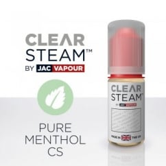 Pure Menthol *Clear Steam* UK-Made 10ml E-Liquid