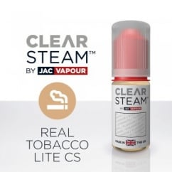 Real Tobacco Lite *Clear Steam* UK-Made 10ml E-Liquid