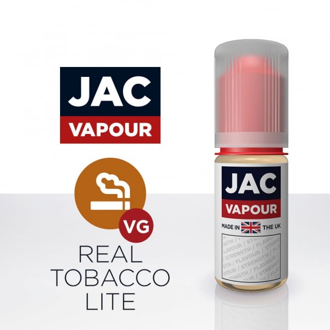 Jac Vapour Real Tobacco Lite High VG 10ml E-Liquid