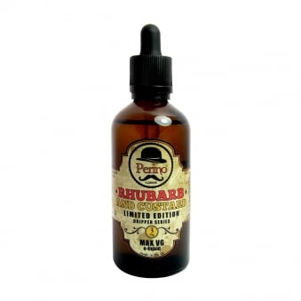 Rhubarb & Custard MAX VG 100ml E-Liquid