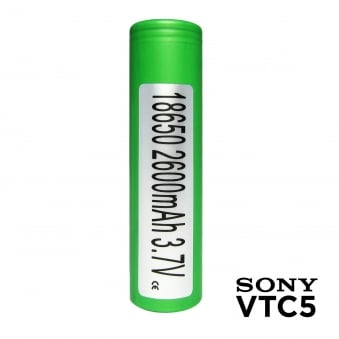 Sony VTC5 18650 2600mAh Mod Battery