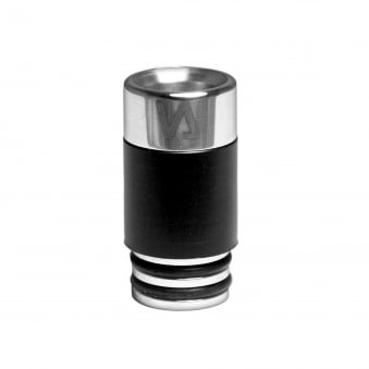 Stainless Steel Insignia Drip Tip