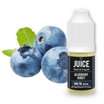 Blueberry Burst E-Liquid 10ml