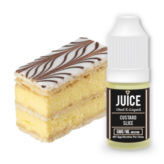 Custard Slice Juice 10ml E-Liquid