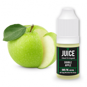 Double Apple Juice 10ml E-Liquid