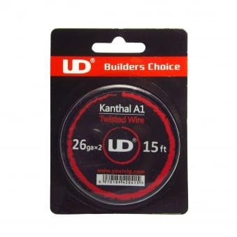 UD Kanthal A1 Twisted Wire 15ft