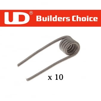 UD Pre-made Clapton Coils (Pack of 10)