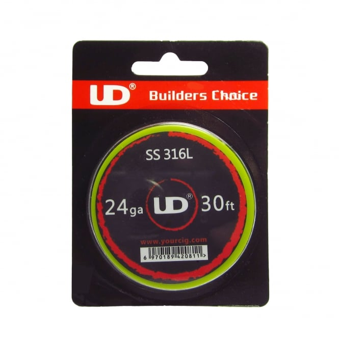 Youde UD Stainless Steel (SS316L) Wire 30ft