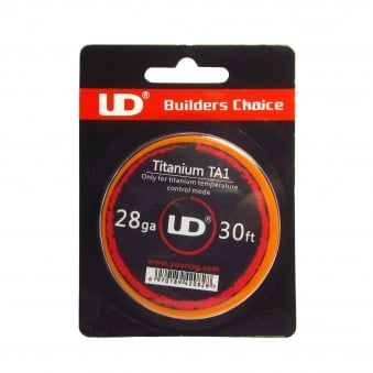 UD Titanium (TA1) Temperature Control Wire 30ft
