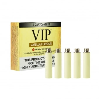 Cartomizer Refill Pack - Vanilla Flavour